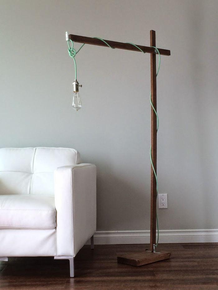 Souvent Lampadaire design- optez pour une lampe de salon moderne  IJ47