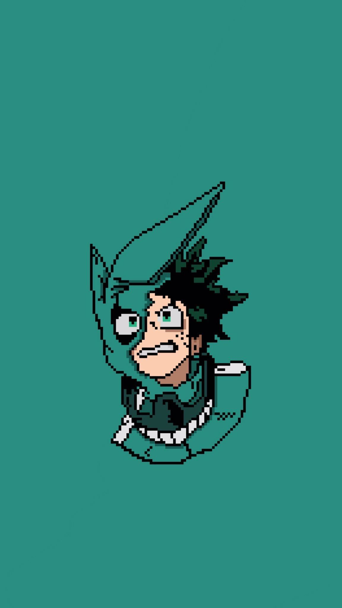 Bnha Lockscreen Midoriya Izuku Hero Wallpaper Hero Anime Wallpaper
