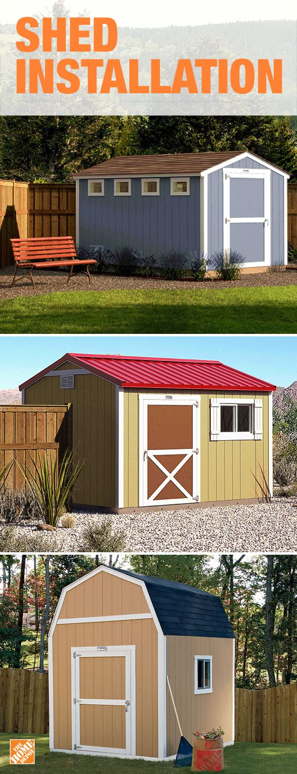 custom design a shed with help from local licensed professionals