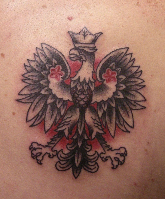 polish eagle tattoos pictures tattoos pinterest polish eagle