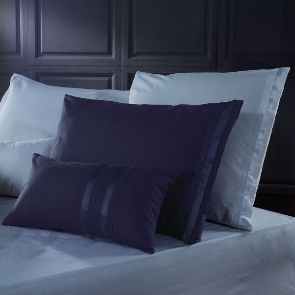 Double Linens Monde 200/Fils 100/% Coton /égyptien avec Housse de Couette Parure de lit avec taies doreiller Red