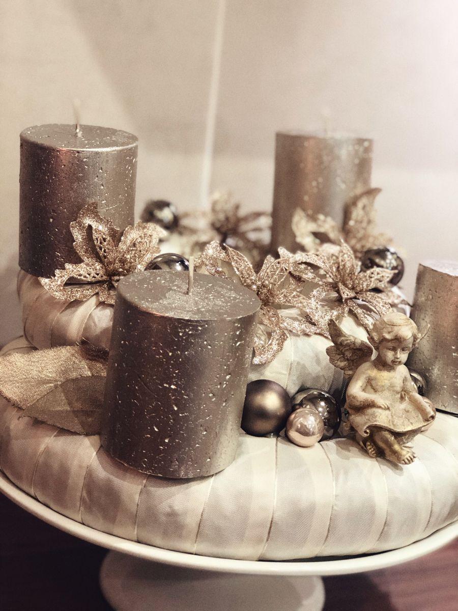 Advent christmas wreath Christmas wreaths, Home decor