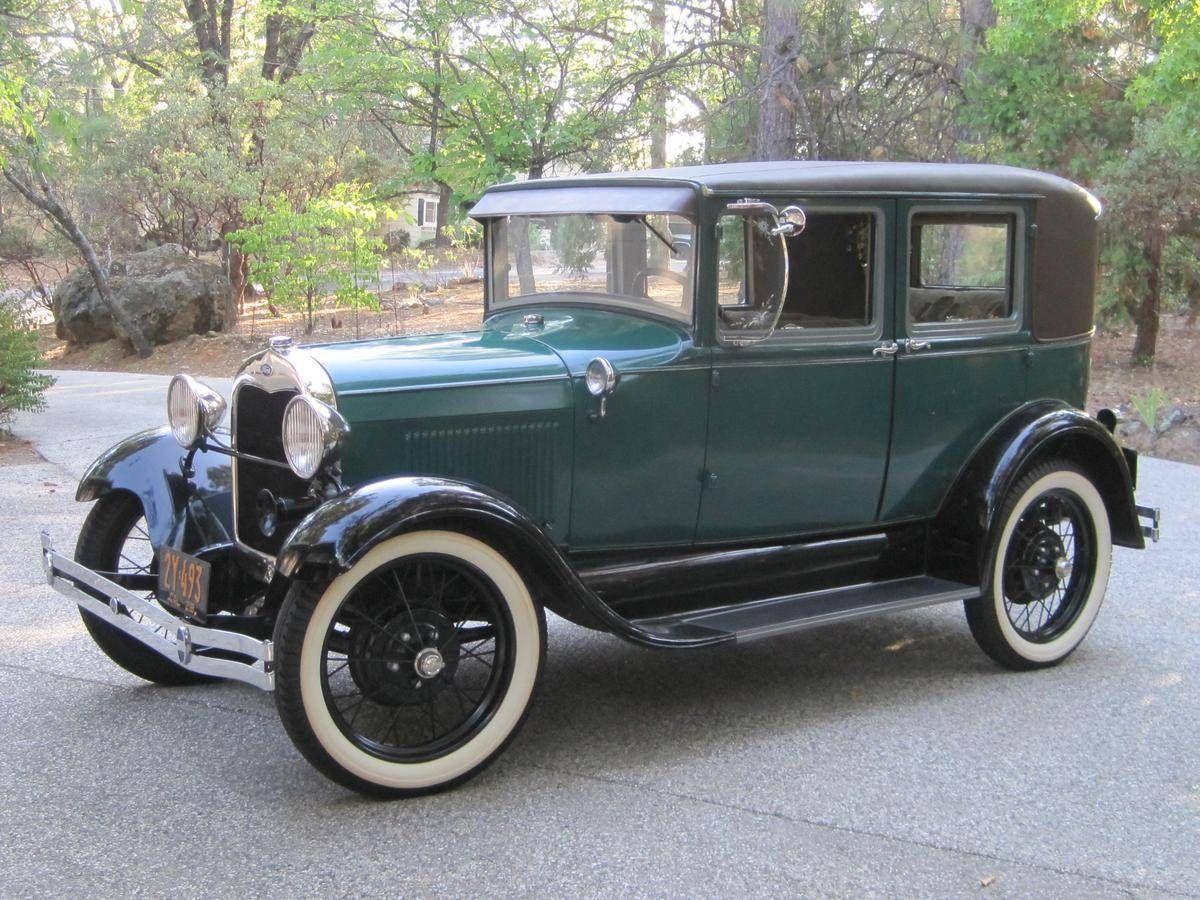 1929 ford model a fordor leatherback sedan for sale hemmings motor news old cars pinterest for 1929 ford model a 4 door sedan