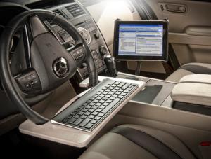Truck Laptop Desks Laptop Computer Mounts Work Truck Organization Steering Wheel Truck Organization