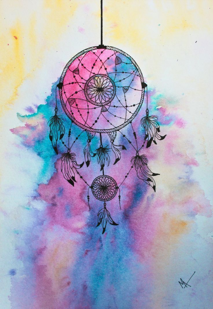 Color art dreamcatcher - Water Color Dream Catcher Tattoo Yahoo Image Search Results
