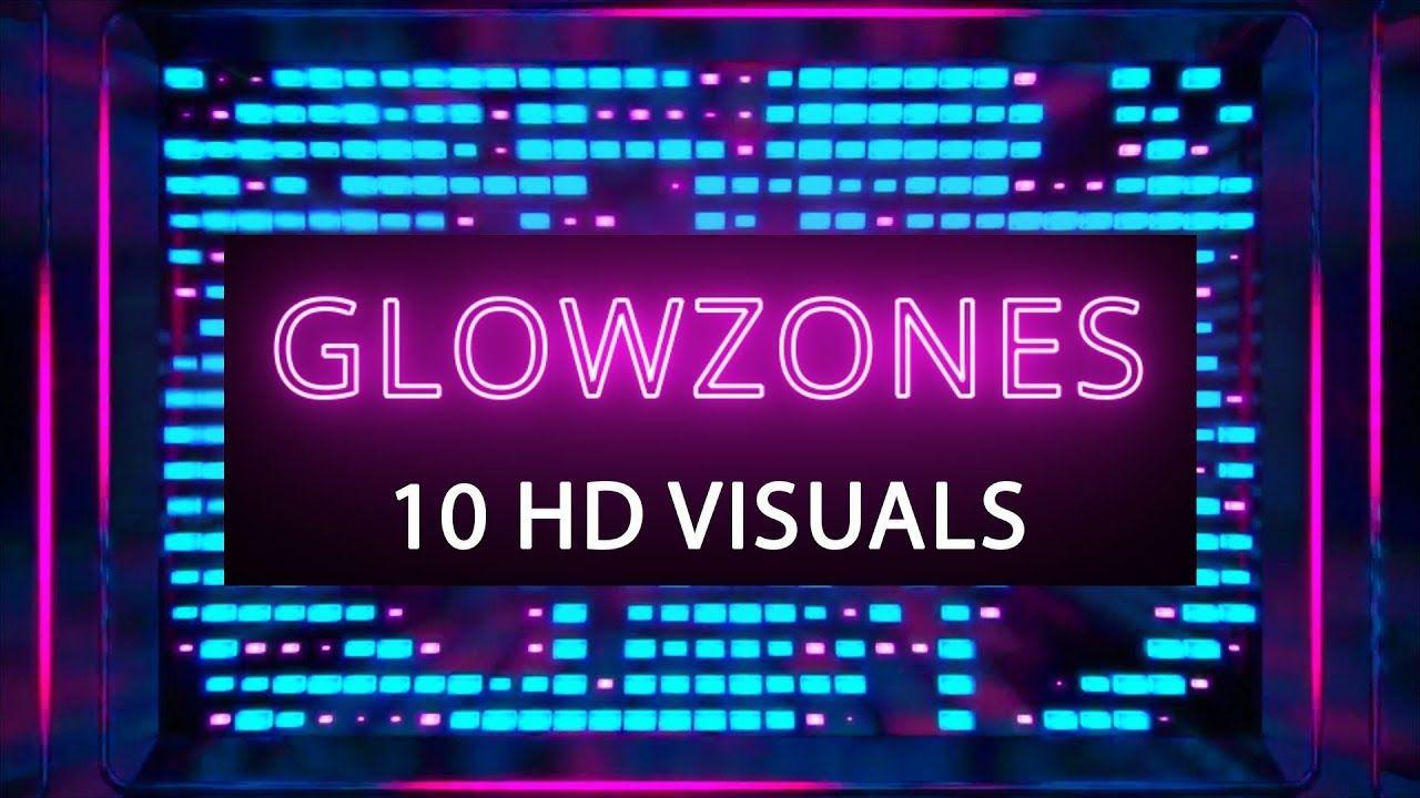 GLOWZONES Background s, Loop, Stage background