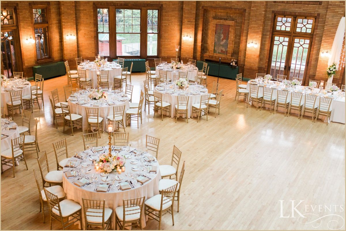 This chicago wedding at cafe brauer was one to remember soft pinks