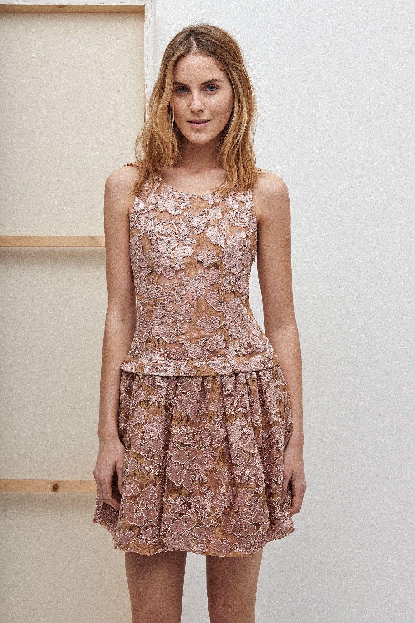Vestido lady de guipur adolfo dominguez shop online for Adolfo dominguez outlet online