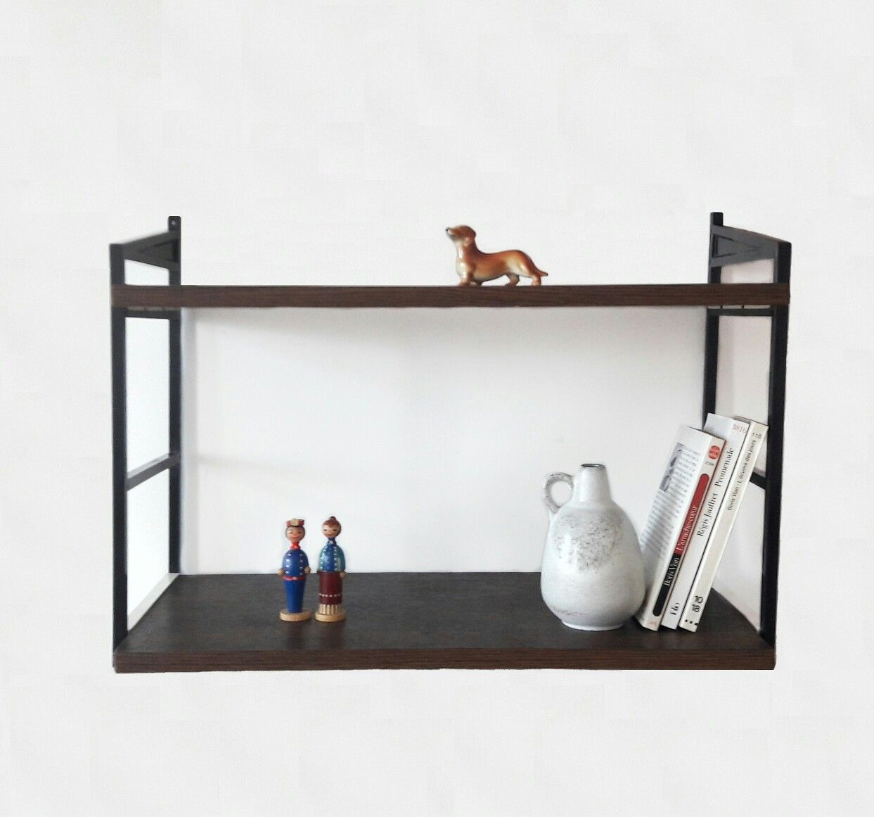 Small mid century modern wall shelves by west german schuberth small mid century modern wall shelves by west german schuberth werk braunschweig now in the amipublicfo Gallery