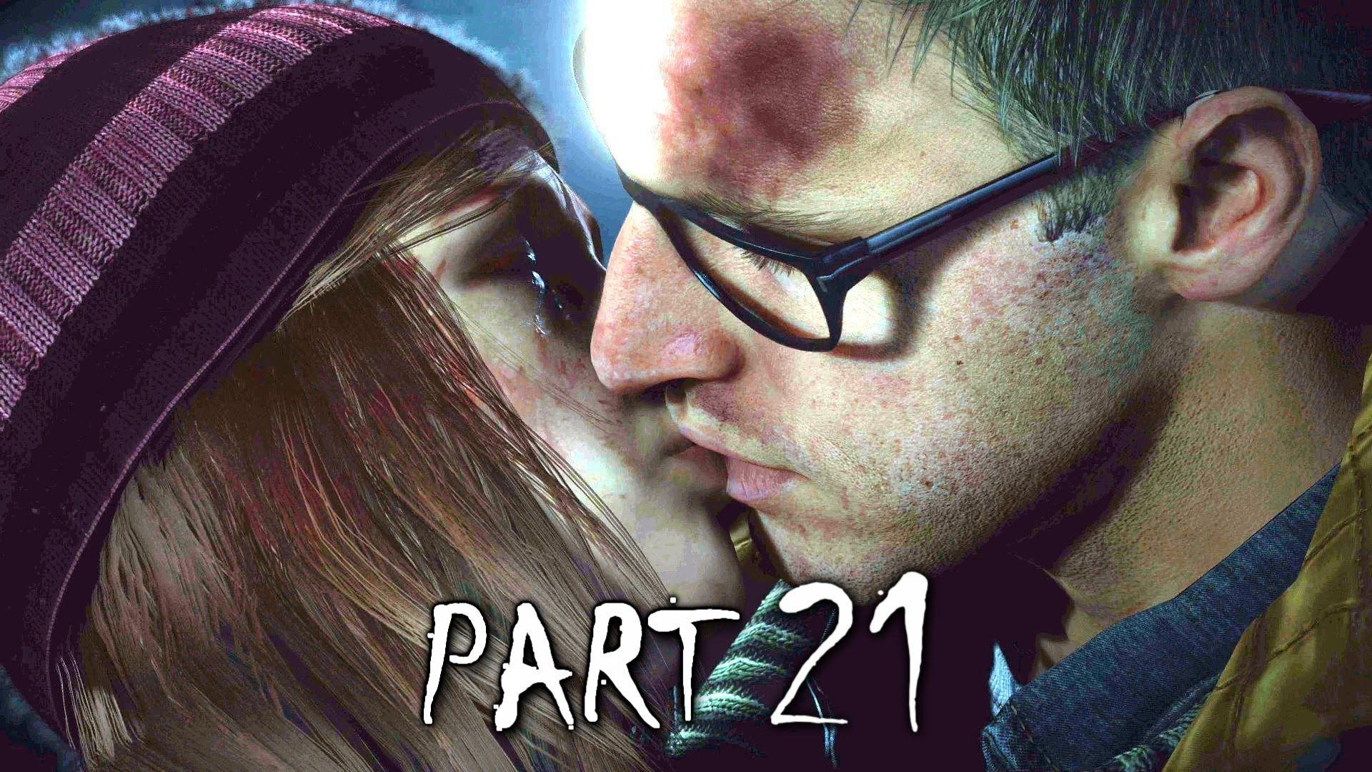 Until Dawn Walkthrough Gameplay Part 21 Rescue (PS4