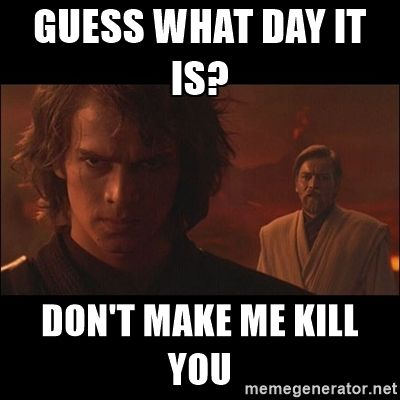Anakin Star Wars Meme Generator Imgflip Star Wars Memes Beauty Memes Makeup Humor