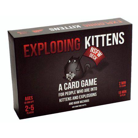 Exploding Kittens Card Game Black Exploding Kittens Card Game
