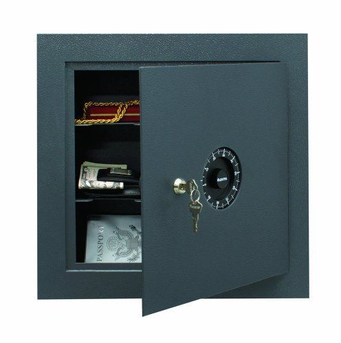 Sentry Safe 7150 Wall Safe Kitchen Part No 7150 By Sentry 173 93 Wall Safe Features A Combination Lock Key Loc Wall Safe Combination Safe Locker Storage