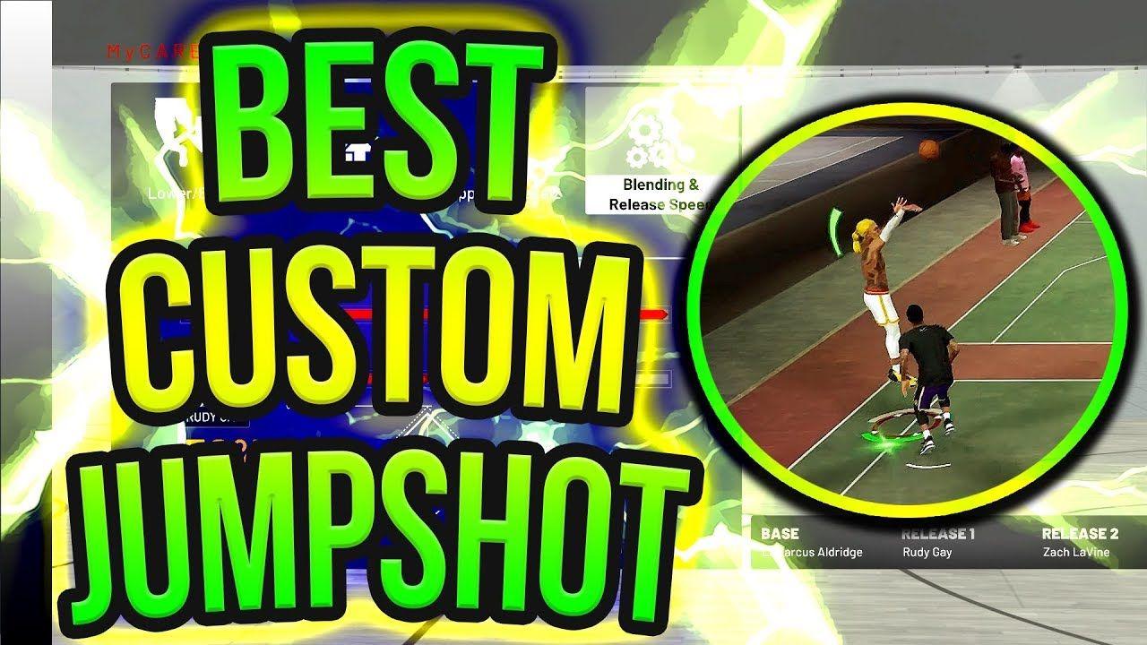 My BEST CUSTOM JUMPSHOT IN NBA 2K19 - NBA 2K19 TIPS | Gaming