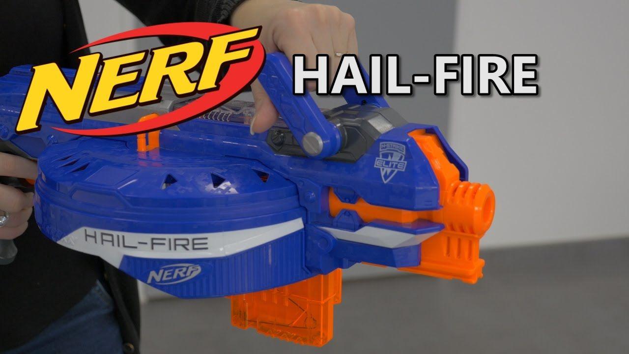 Nerf Elite Hail-Fire - Démo du blaster en français