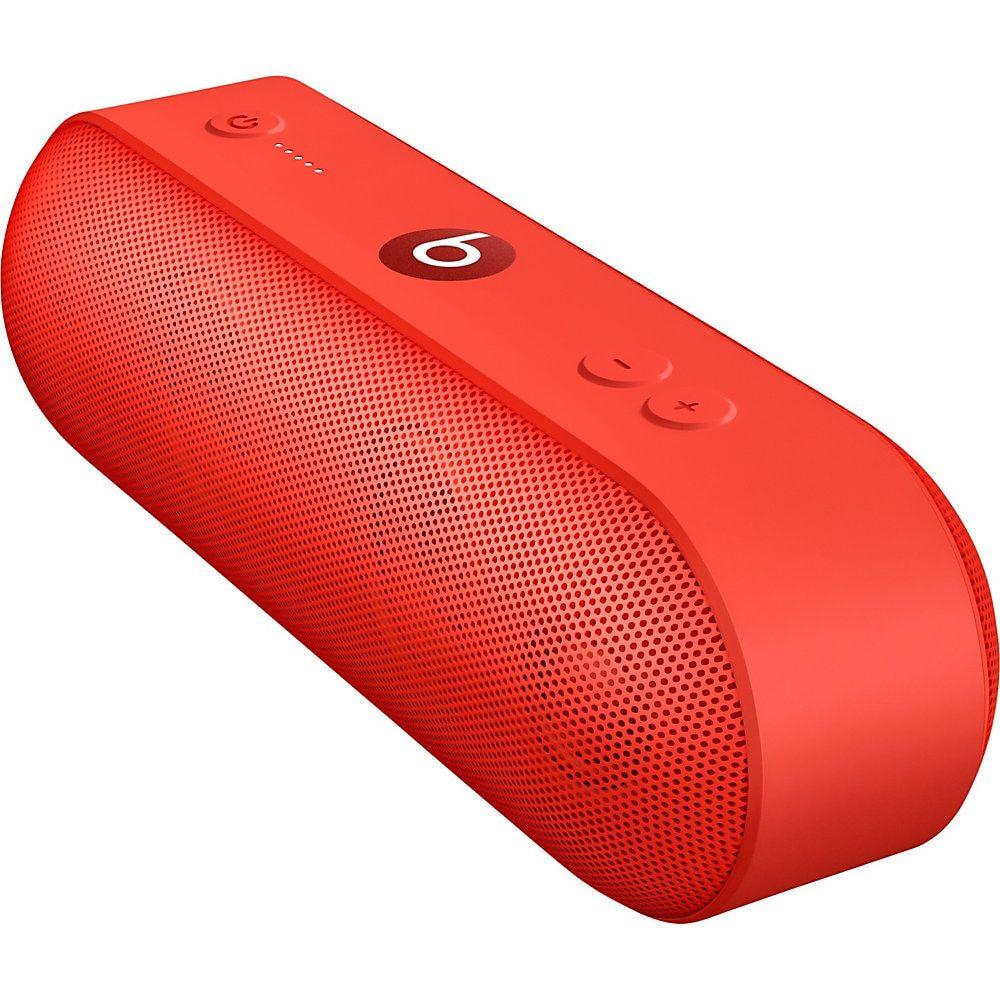 Apple Beats Pill Portable Bluetooth Speaker System Red Ml4q2ll A Beats Pill Bluetooth Speakers Portable Speaker