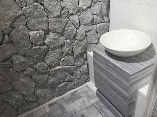natural stones for wall covering rock face dias by its grey colour gives a