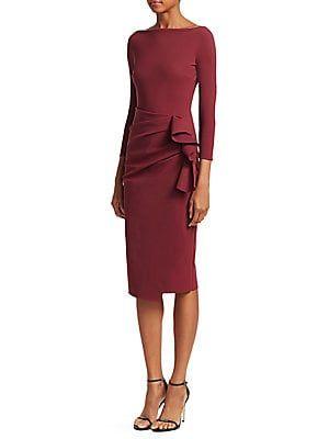 a78eac679ad Chiara Boni La Petite Robe - Zelma Side Ruffle Midi Dress