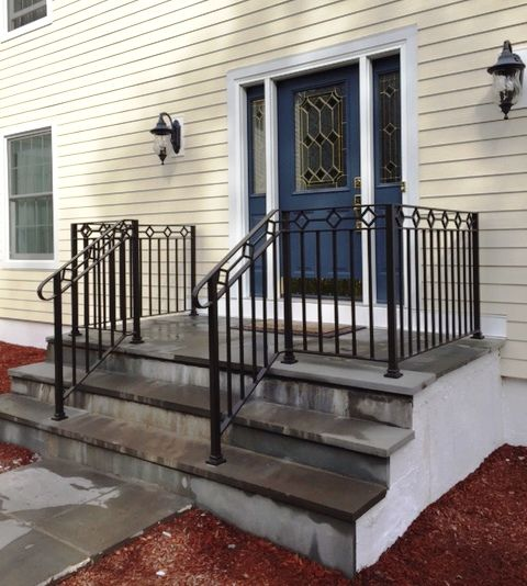 Decorative wrought iron railing wrought iron railings in - Interior decorative wrought iron gates ...