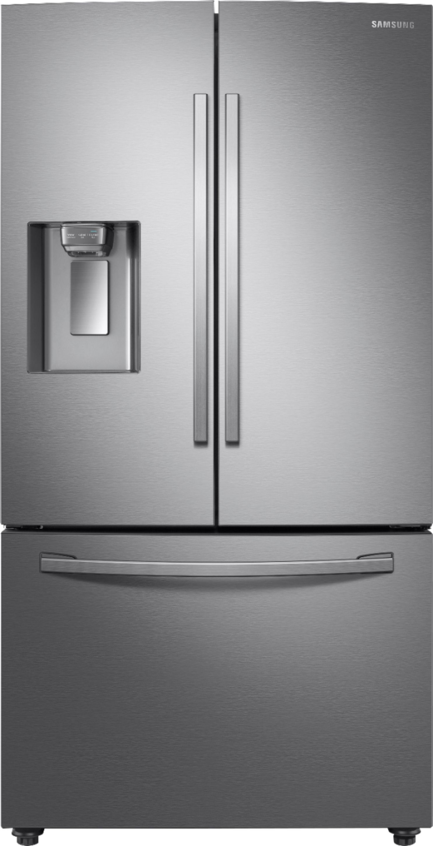 Samsung 22 6 Cu Ft French Door Counter Depth Fingerprint Resistant Refrigerator With Coolselect Pantry Stainless Steel Rf23r6201sr Best Buy Stainless Steel French Door Refrigerator Stainless Steel Refrigerator Cool Things To Buy
