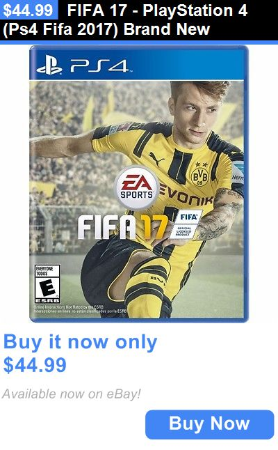 Video Gaming Fifa 17 Playstation 4 Ps4 Fifa 2017 Brand New Buy It Now Only 44 99 Fifa 17 Fifa Ultimate Team Fifa