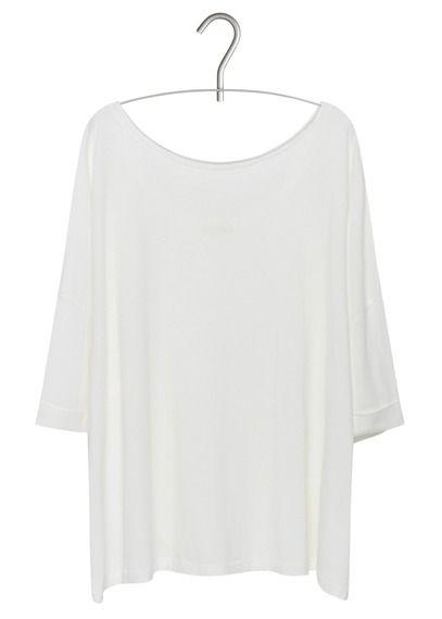 670da4e5fc5 Tee-shirt Miugreen ample Blanc by AMERICAN VINTAGE