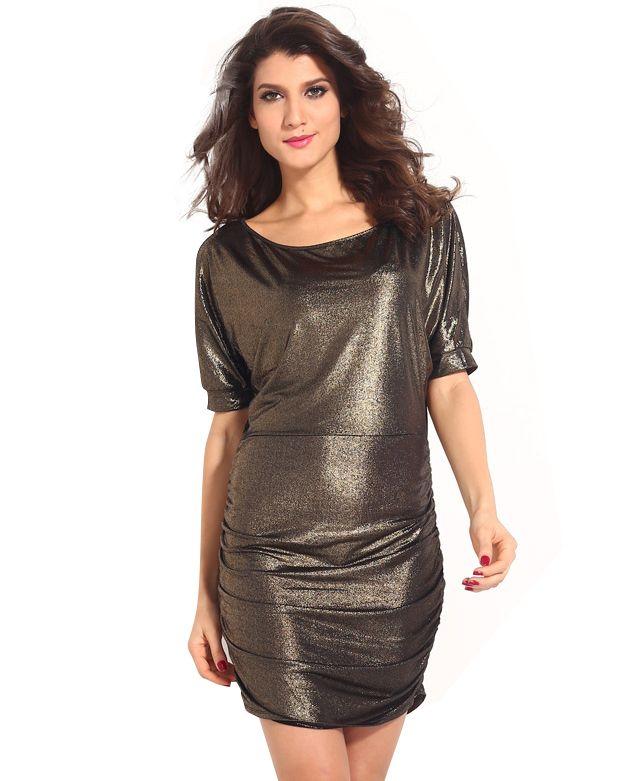 Bodycon Dresses Metallic Dresses Fashion Clothes Women Club Party Dresses Women S Evening Dresses