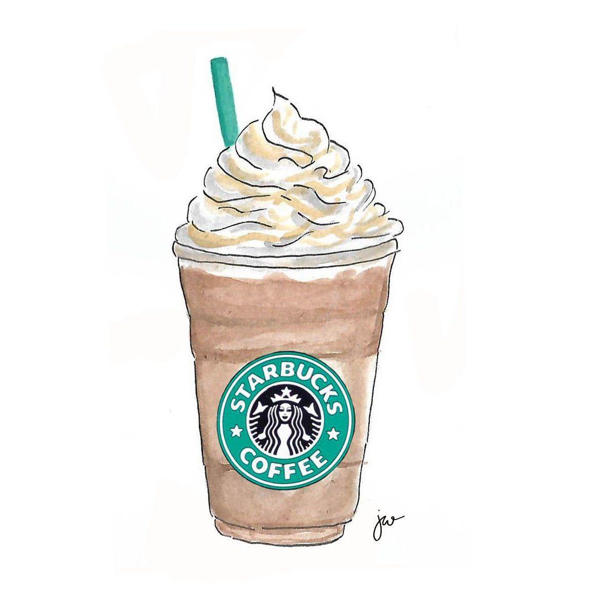 #starbucks #coffee #drawing jewell illustration, jewell ...