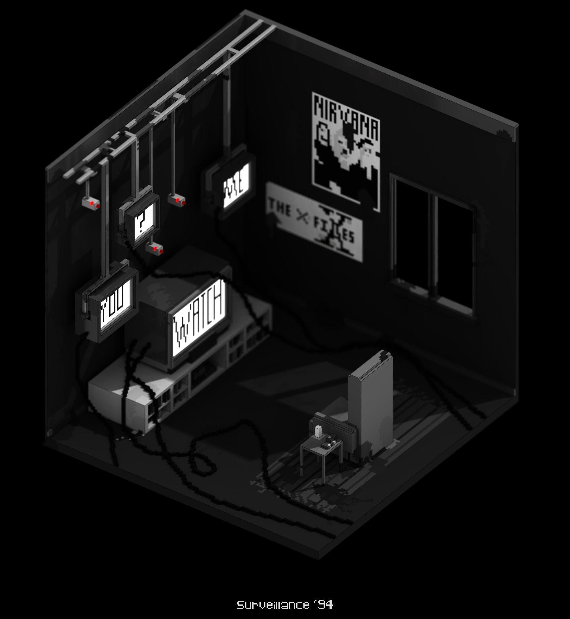 ArtStation - Mini Environments, Benjamin Nicholas