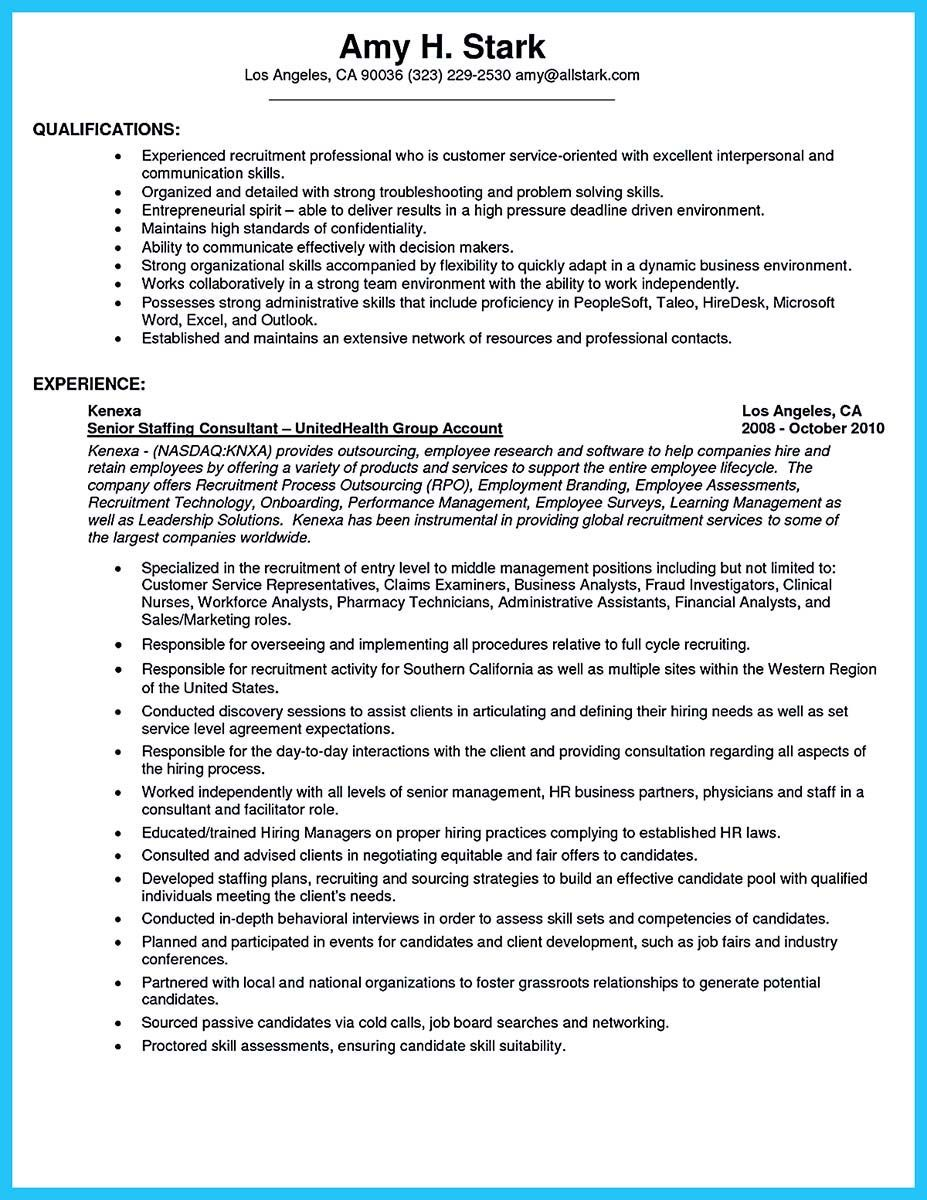 awesome Well Written CSR Resume to Get Applied Soon, | Resume/CV ...