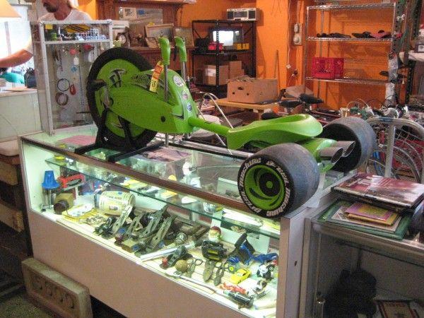 Who had it...The Green Machine!