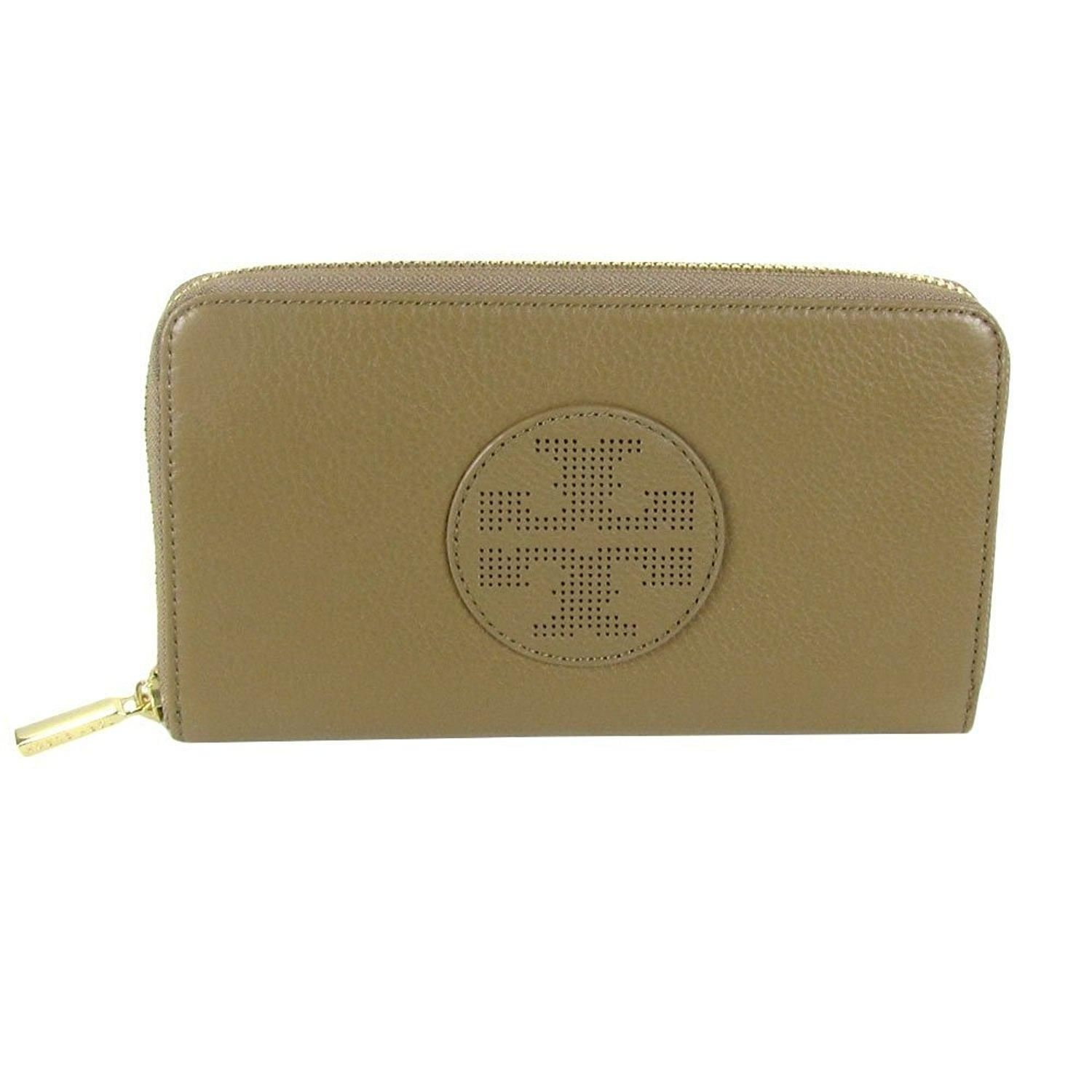 Tory Burch Kipp Zip Continental Clutch Wallet Sand Dollar Leather. Free shipping and guaranteed authenticity on Tory Burch Kipp Zip Continental Clutch Wallet Sand Dollar Leather at Tradesy. Tory Burch Kipp Zip Continental Clutch Wallet Sand...