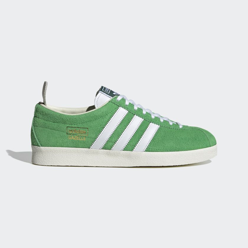 Adidas Gazelle Vintage Shoes Green Adidas Us In 2020 Vintage Shoes Adidas Gazelle Vintage Adidas