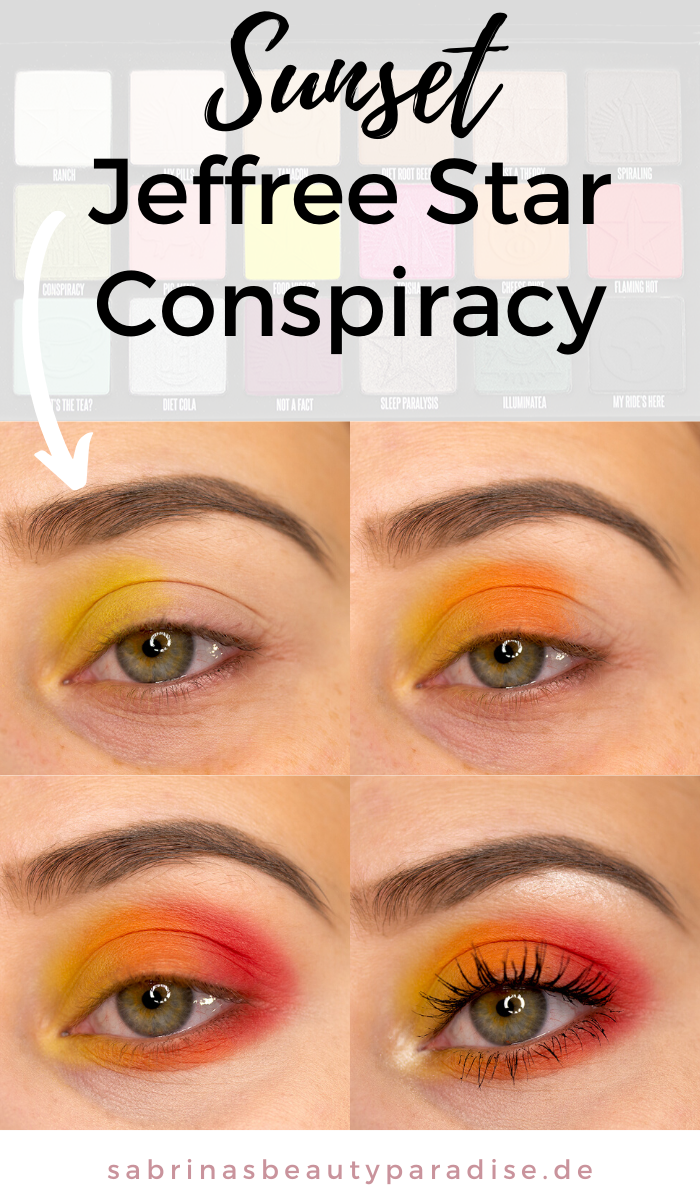 Photo of Sunset Eye Make Up Tutorial Jeffree Star Conspiracy