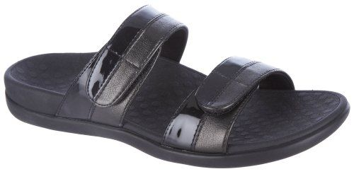 Vionic with Orthaheel Technology Women's Shore Slide -- More info could be found at the image url.