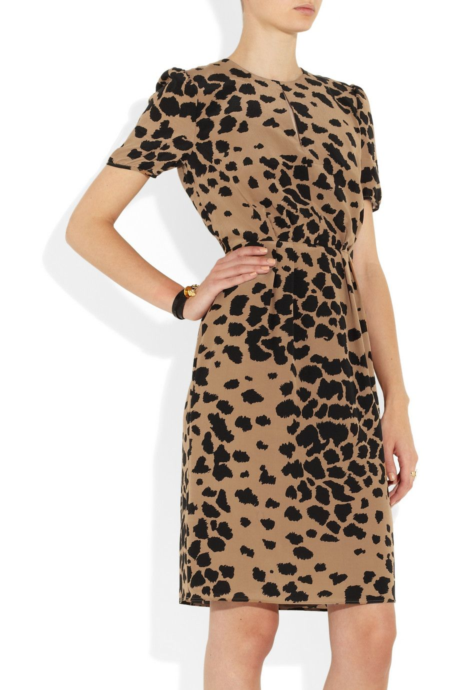 055c57bda2c64 Loving everything about this abstract animal print (Burberry London ...