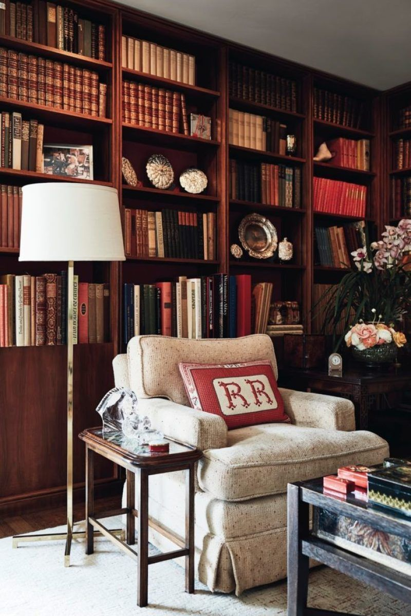 English Paneled Room: 15 Handsome Wood Paneled Libraries + Father's Day Gift