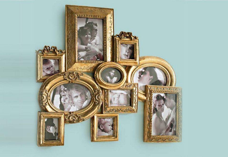 Fotorahmen Cottage Antik 8 Bilder Dekoration Bilder Bilderrahmen Wohnzimmer