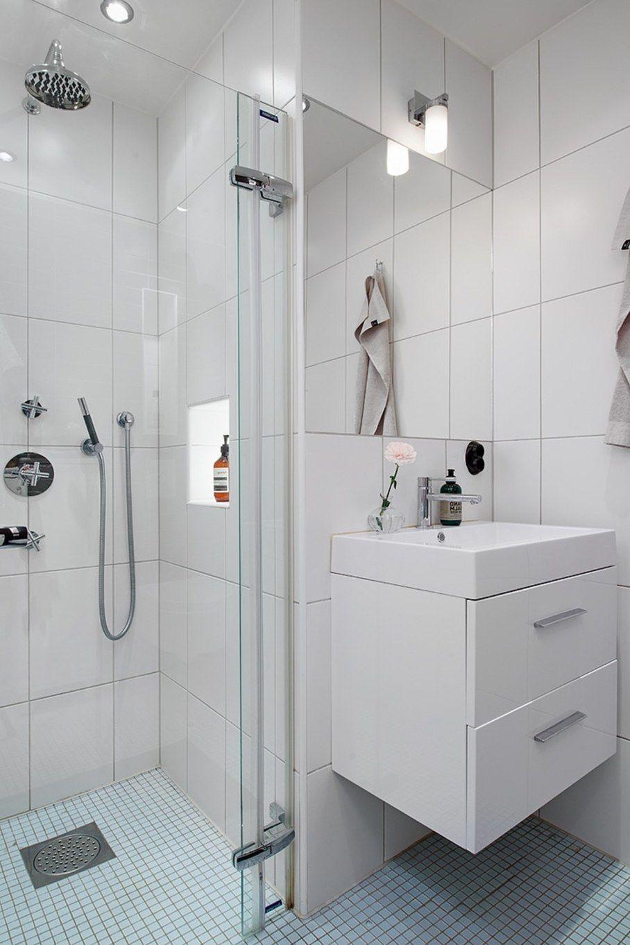 Scandinavian style interior design - bathroom | H O M E. | Pinterest ...