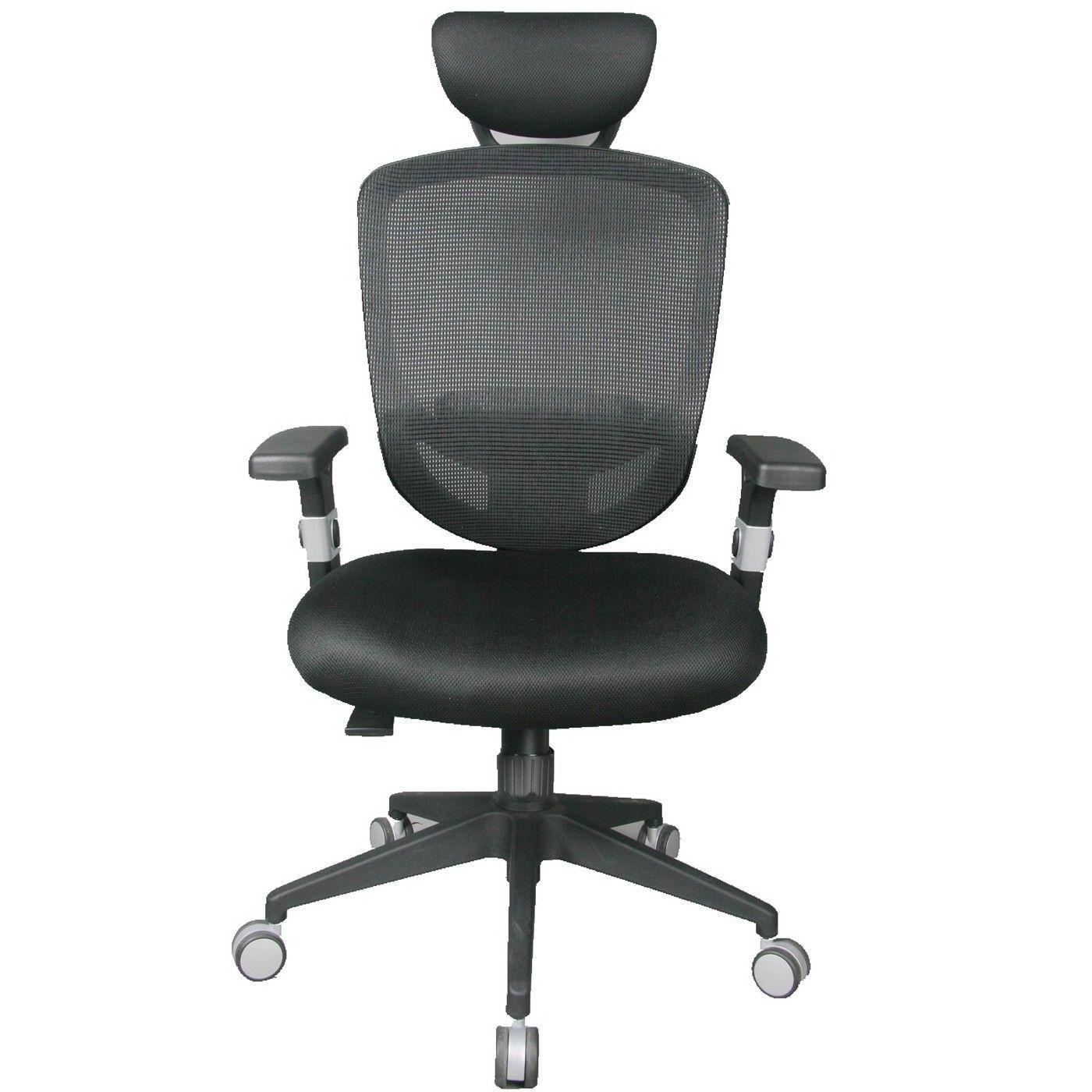 TygerClaw High Back Mesh fice Chair with Headrest