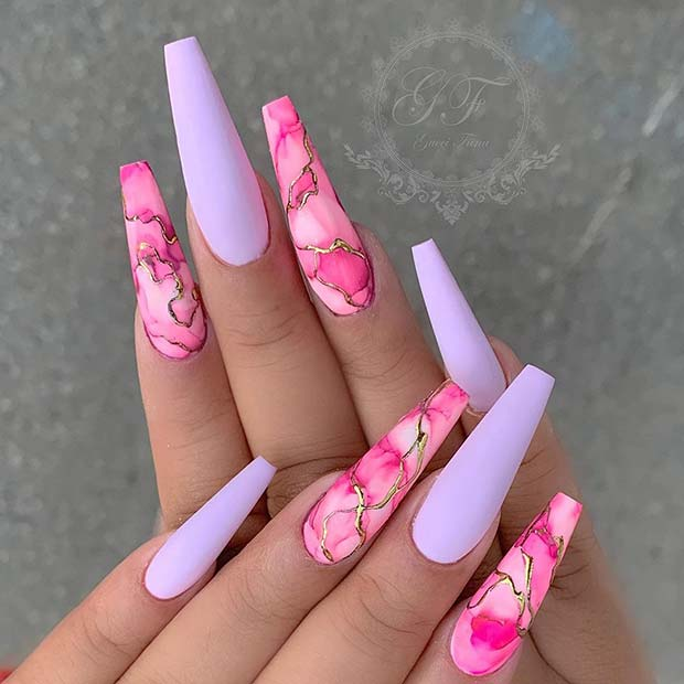23 Really Cute Acrylic Nail Designs You'll Love | Page 2 of 2 | StayGlam