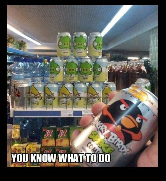 angry birds cola
