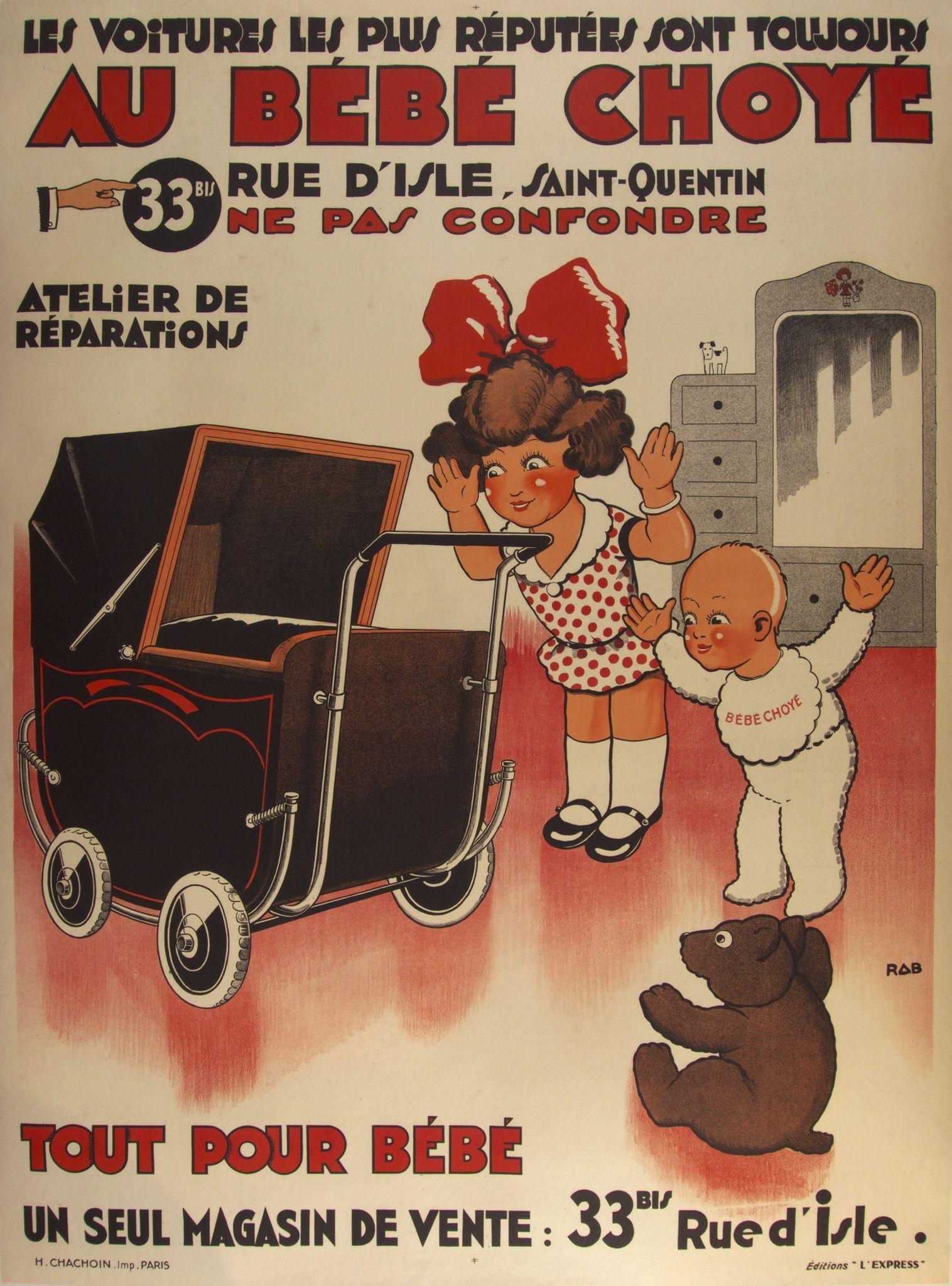 Au Bébé Choye RAB France - c. 1935