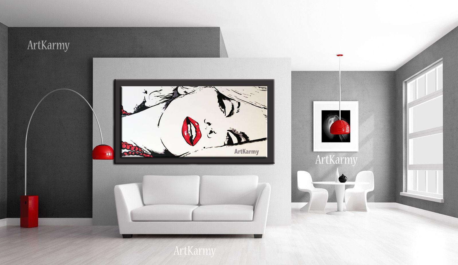 Per acquistare un quadro dipinto a mano con marilyn http for Quadri minimal