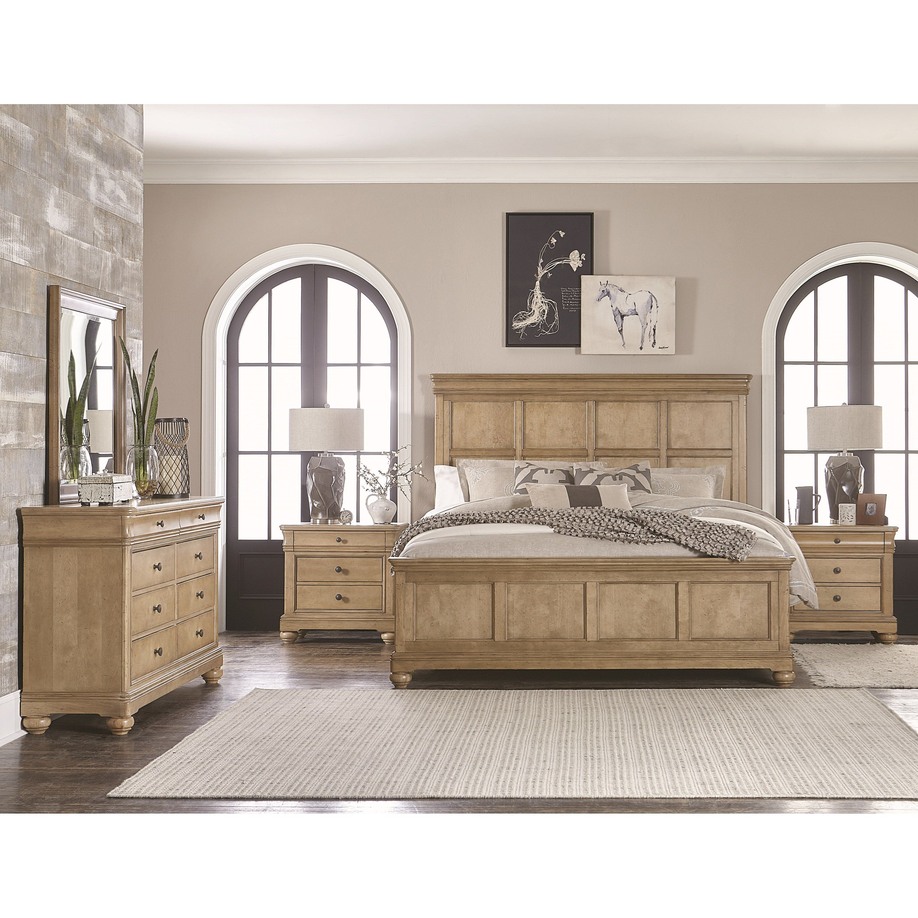 Best Ashby Woods King Bedroom Group By Legacy Classic At Hudson 640 x 480