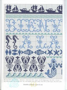 fair isle dolphin patterns - Google Search (With images ...