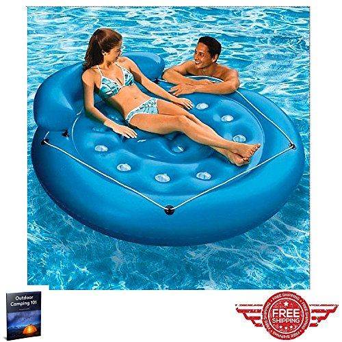 Swimming Floats For Adults Best Swimming Pool Water Mattress Inflatable Relax Sun Sea Summer Fun Inflatable Island Inflatable Swimming Pool Inflatable Pool