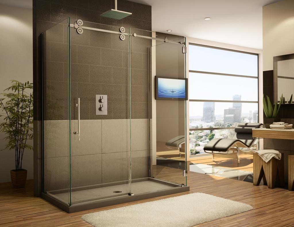 20 Elegant Rain Shower Design Ideas Shower Sliding Glass Door