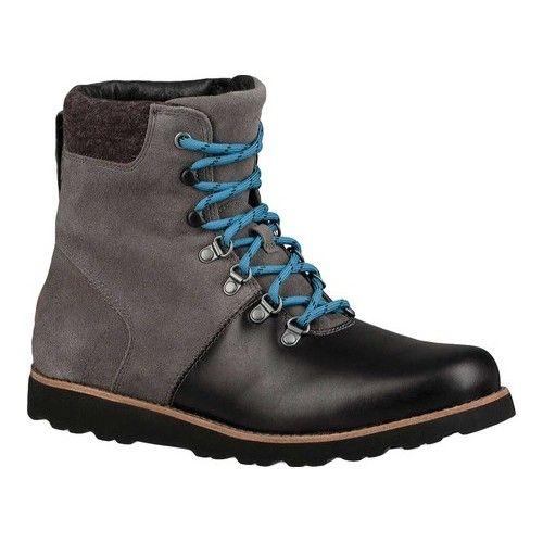 b5c001b68d0 Men's UGG Halfdan Waterproof Boot - Charcoal Full Grain Leather ...