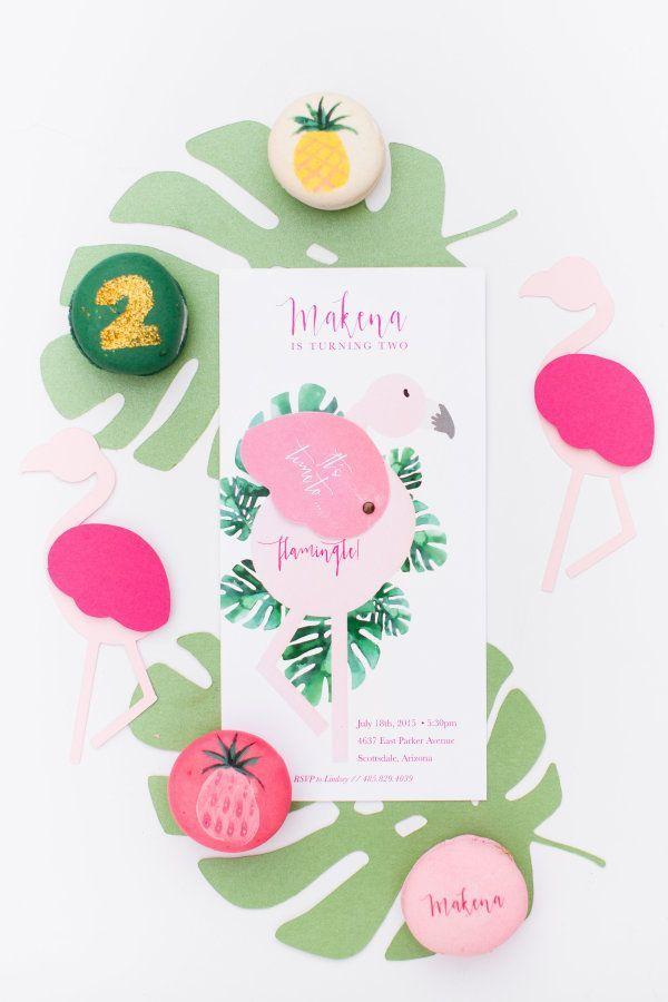 Flamingo Inspired Birthday Party Style Me Pretty Living Mit Bildern Selbermachen Geschenke Kindergeburtstag Party Ideen